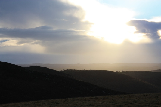 By greeting the sunrise on Dartmoor and toasting with Champagne...