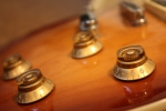 A shot of a small part of one of my Son's guitars