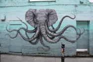 I love this elephant/octopus!